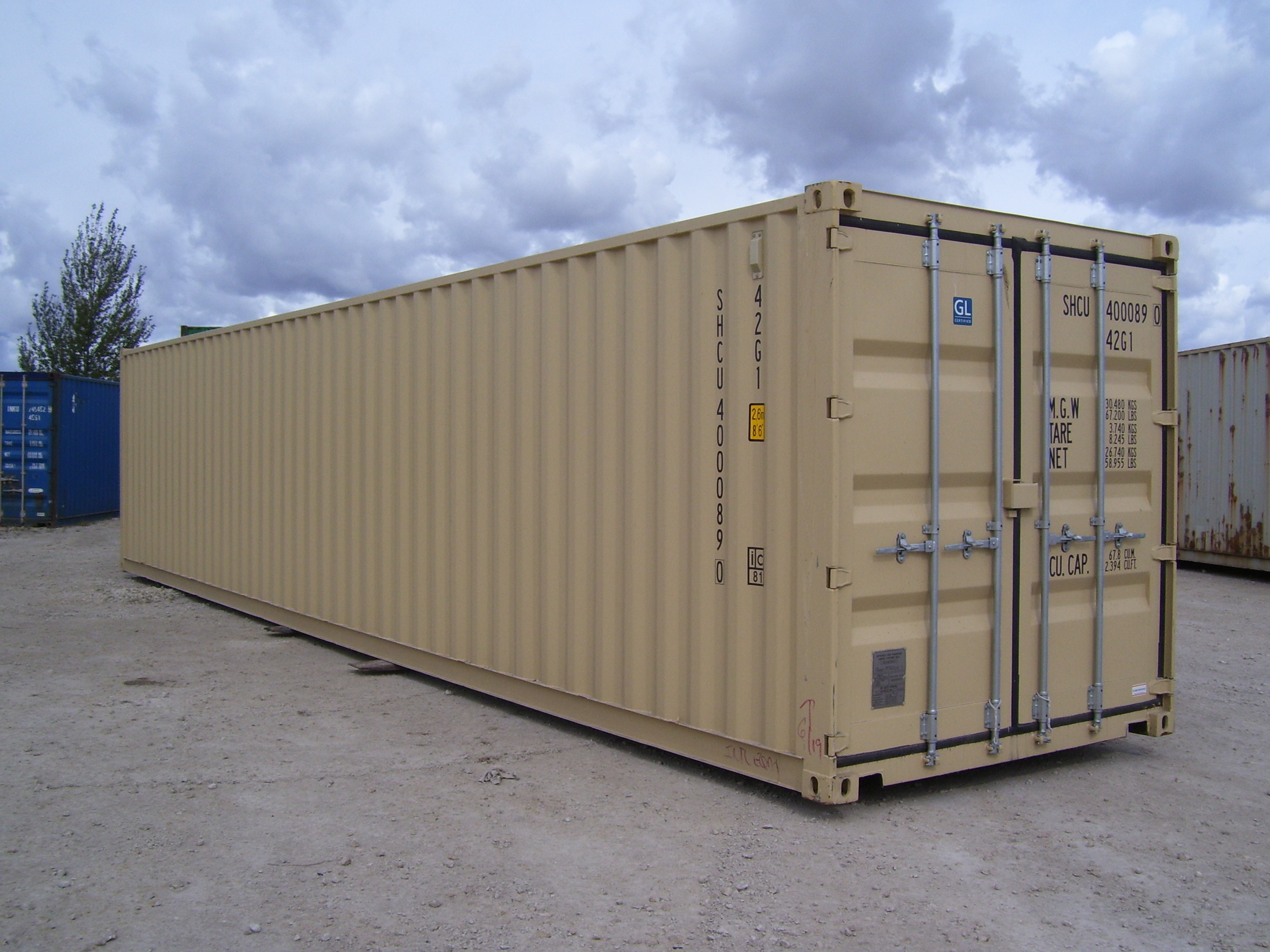 40ft Storage Containers Best Storage Trailers