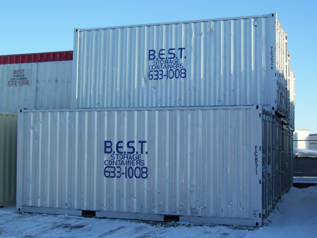 20 foot used shipping containers